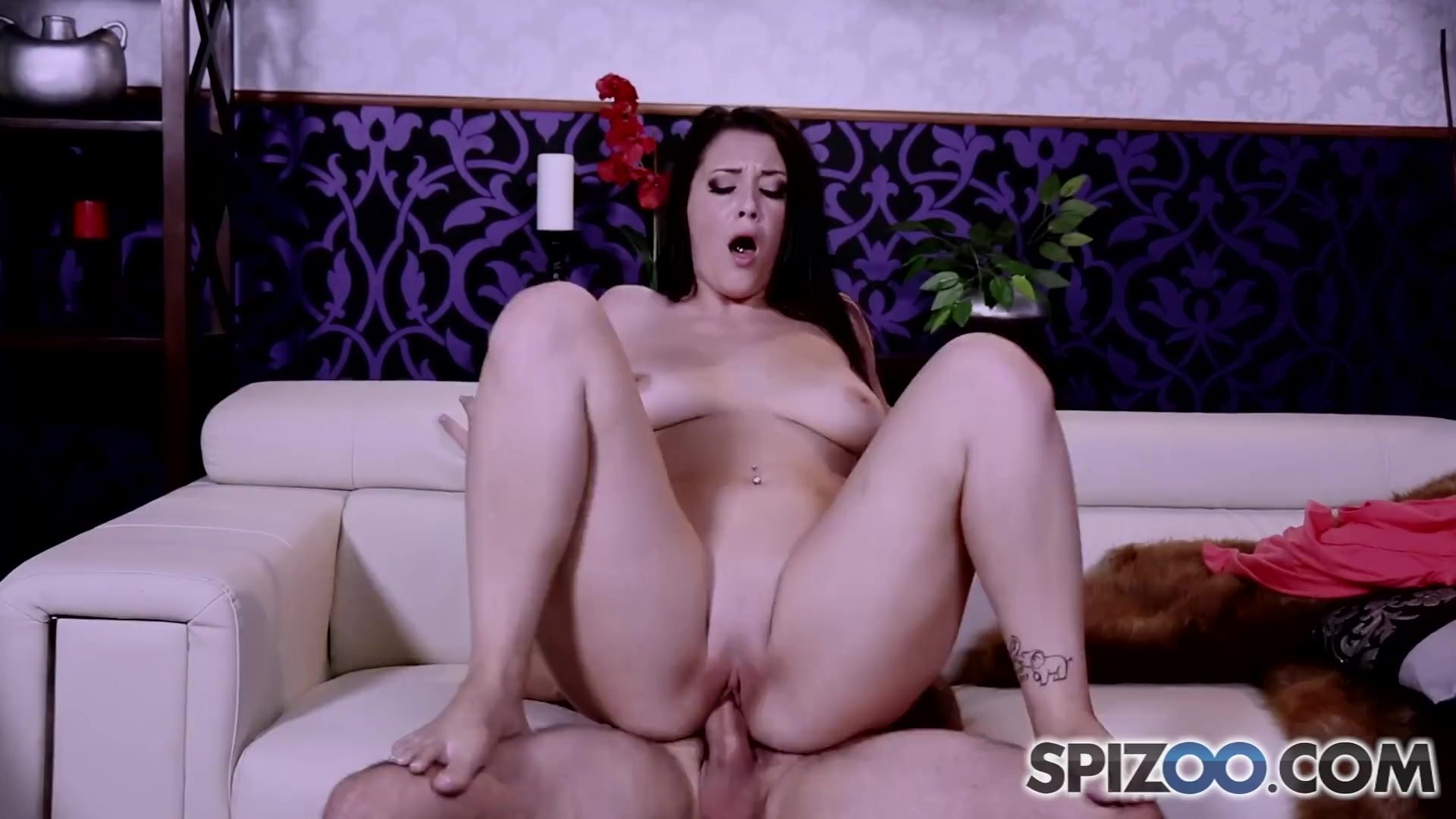 Spizoo - Big booty Noelle Easton is fucked by a big hard dick, big boobs