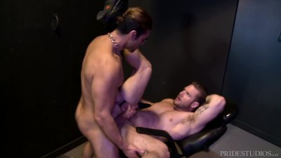 My Latino Daddy Made Me Gag & Spit All Over His Thick Cock