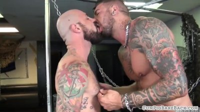 Bearded gay sex