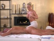 Massage Rooms Sexy blonde teen fucked by big cock