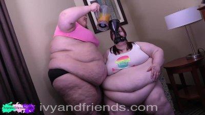 ssbbw funnel feeds ssbbw friend fatter