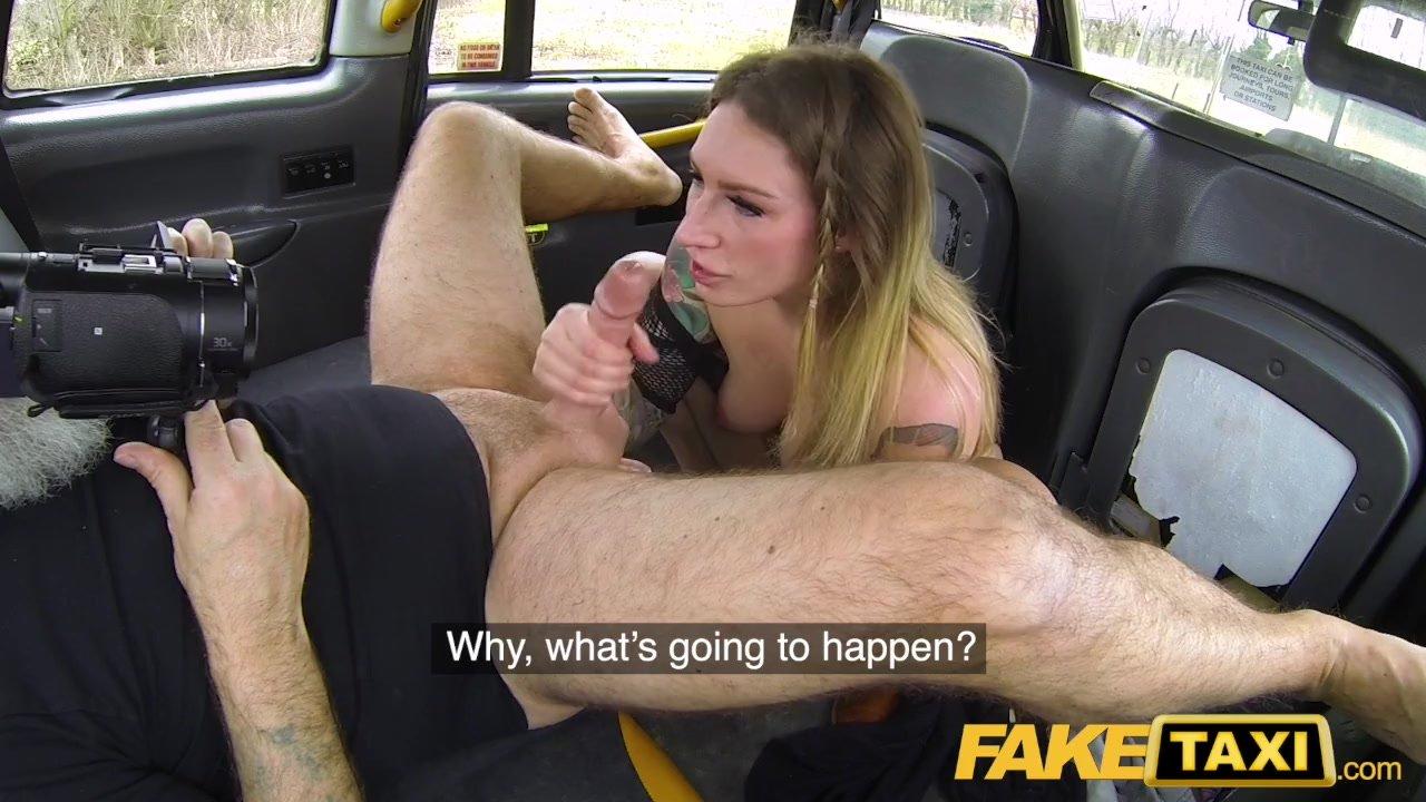 Female Fake Taxi Rebecca
