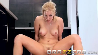 Brazzers - Ashley Fires lets Big cock Burglarize her Butt
