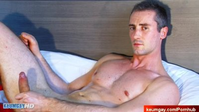 My sexy str8 neighbour serviced in a gay porn in spite of him