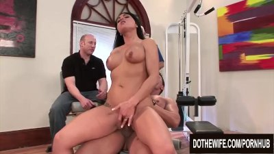 Cuckold Enjoys Watching His MILF Wife Mahina Zaltana Take It Up the Ass