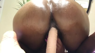 Riding your dick...