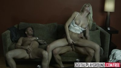 Digital Playground - Riley Steele gets passed around by Scott Nails & Tommy
