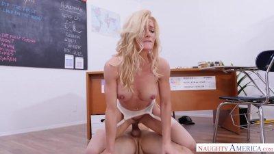 BAEB Submissive blonde spinner Elsa Jean POUNDED