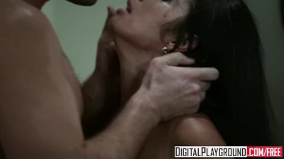 Digital Playground - Monica Santhiago gets fucked in the ass in the kitchen