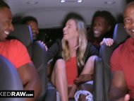The Swinger Experience Presents BLACKEDRAW Teen gets passed around and fucked by group of BBCs