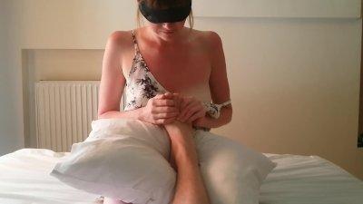 Feet Licking, Rimming and Sucking Dick - Cute Shy Girl Makes Blowjob