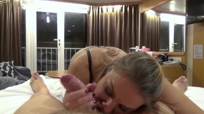 Sucking Daddy's fat cock till he loudly explodes in my mouth (Version 2.0)