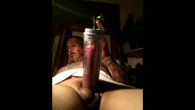 Horny as fuck getn high pumping my cock