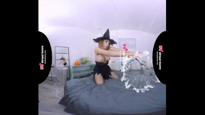 TSVirtuallovers VR - Gorgeous Tranny in Shemale Witch