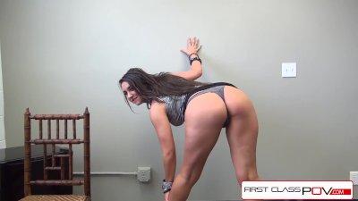 FirstClassPOV- Kylie Kalvetti sucking a monster cock, big booty & big boobs