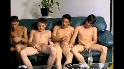 Homo young men chainsmoke and suck big dick vigorously