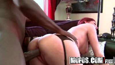 MOFOS  - Red head milf Lya Pink whats some ghetto dick
