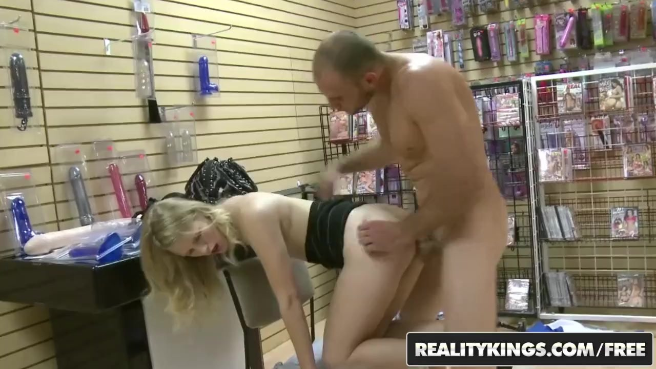 Reality Kings - Shy blonde Megan Brown opens up for some cash