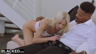 BLACKED Blonde College girl PUNSIHED by BBC