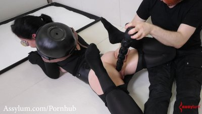 Painful degrading ass fuck and ass to mouth for hot painal slave