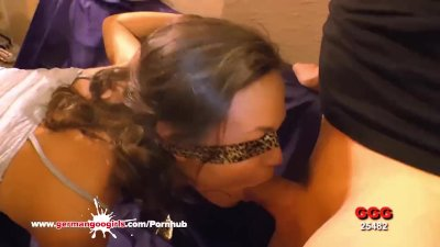 FirstClassPOV - Big booty Ela Darling sucking a monster cock