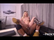 fit blonde cougar ashley fires gets a big black cock up her slutty assPorn Videos