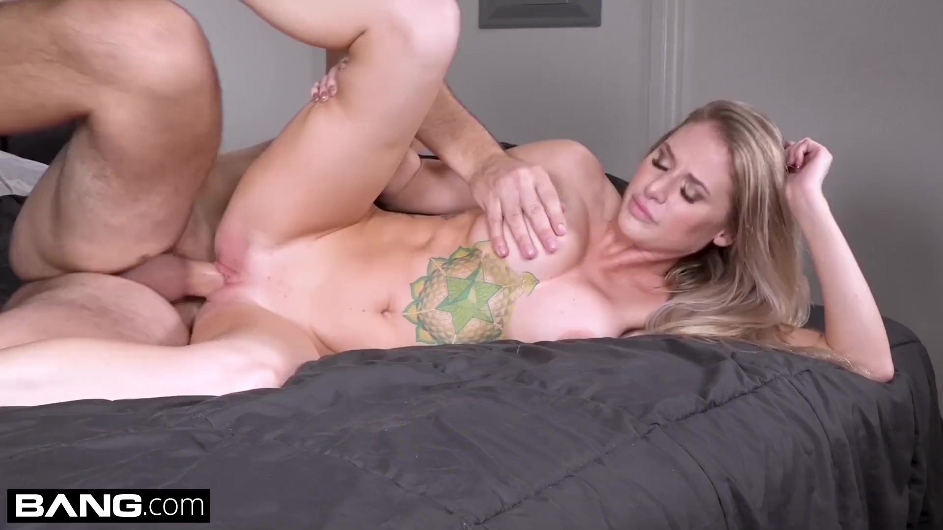 Real MILFs - Blonde MILF with big tits gets fucked pov style