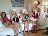 girls gone wild - horny sorority sisters celebrate christmas lesbian sexPorn Videos