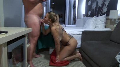 She really loves to suck my cock till I cum in her sweet mouth
