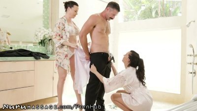 NuruMassage 3Way With Dana DeArmond & Whitney Wright
