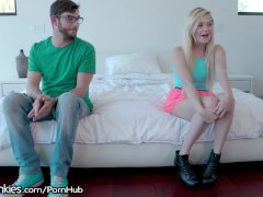 RealityJunkies Chloe Foster Wants her First BIG Dick!
