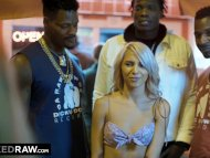The Swinger Experience Presents BLACKEDRAW Horny Teen Needs 3 BBCs NOW