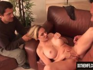 The Swinger Experience – Wife Angela Attison Anally Creampied Right Next to Her Cuckold Husband