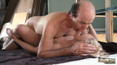 Young wife pleases her sugar daddy with her perfect tight pussy and mouth