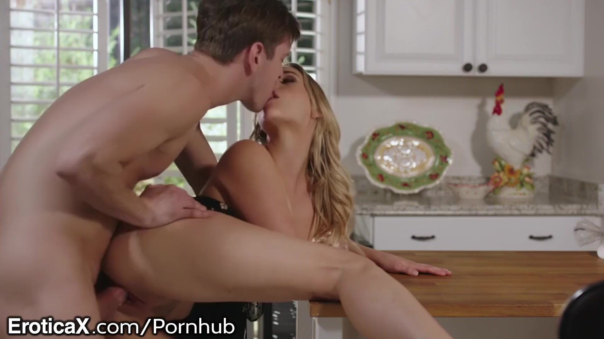 EroticaX Kitchen Counter Sex With Sexy Blonde Girl Mia Malkova