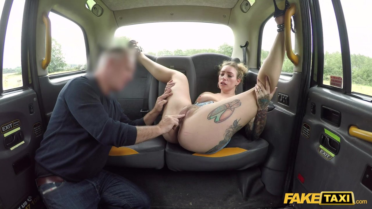 Fake Taxi Ava Austin Releases Her British Hairy Bush Porn -8128