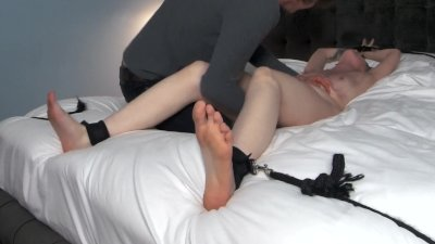 Girlfriend Tied To Bed Extreme Tickle Torture Orgasm