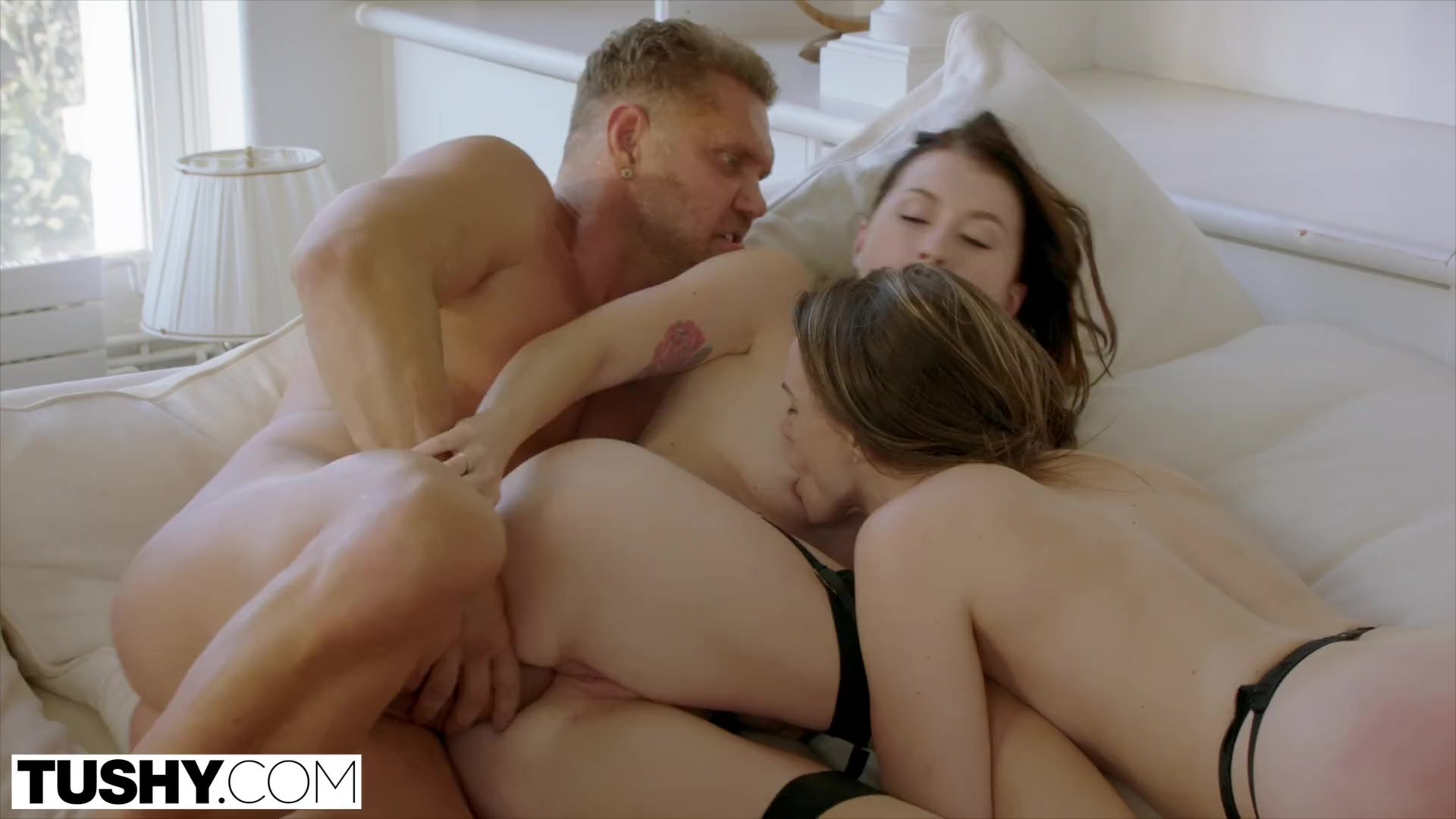 TUSHY Tori Black Intense Anal Threesome