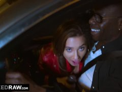 Blackedraw Busty Babe Gets Bbc On A Crazy Night