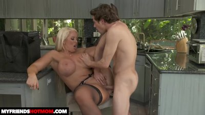 hot milf Alura TNT Jenson fucks young cock