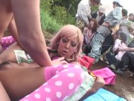 The Swinger Experience Presents Uncensored JAV group of gyaru farm sex party Subtitles