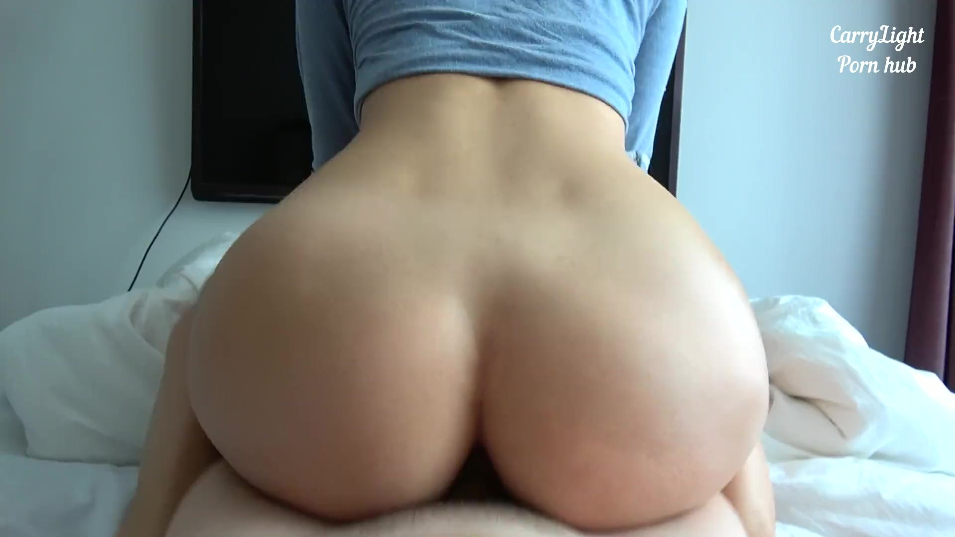 Amateur Big Booty Riding