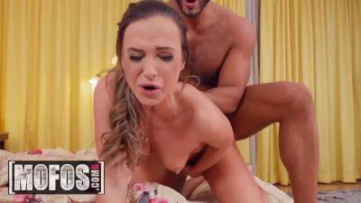 MOFOS - Cristal Caitlin cucks her man with muscular man