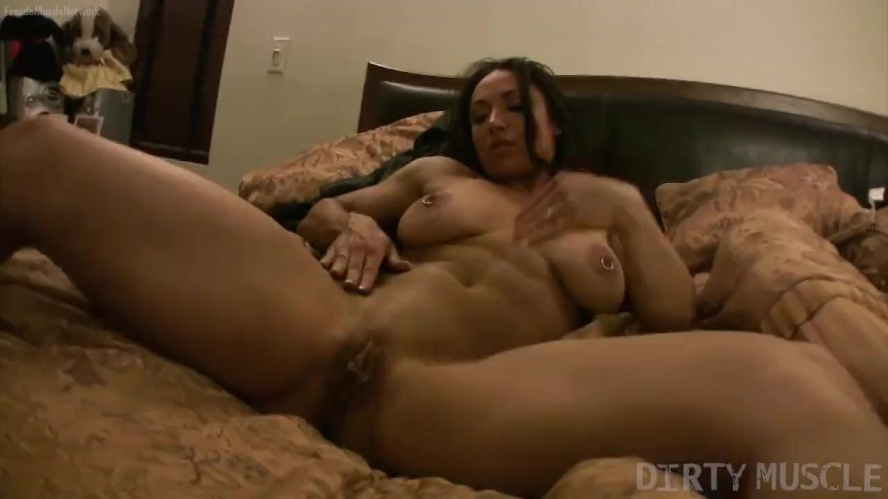 Big Tit Female Muscle Porn Star Pierced Nipples