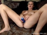 blue hair busty girlfriend gets fucked on home videoPorn Videos