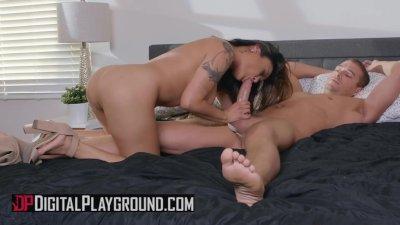 Digital Playground - Busty asian housewife Kaylani Lei loves anal