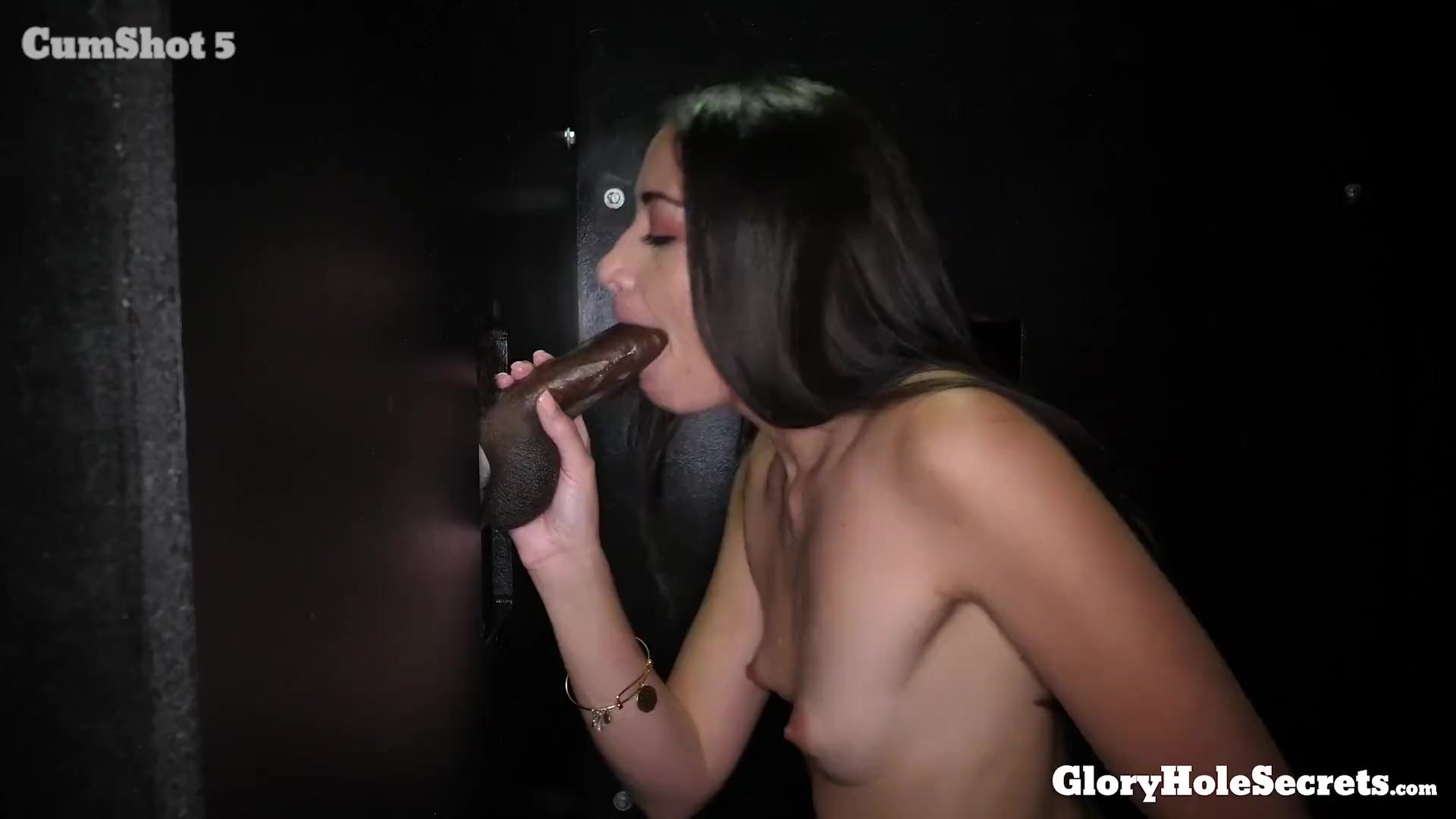 Cum in mouth/eats sexy slender love cocks