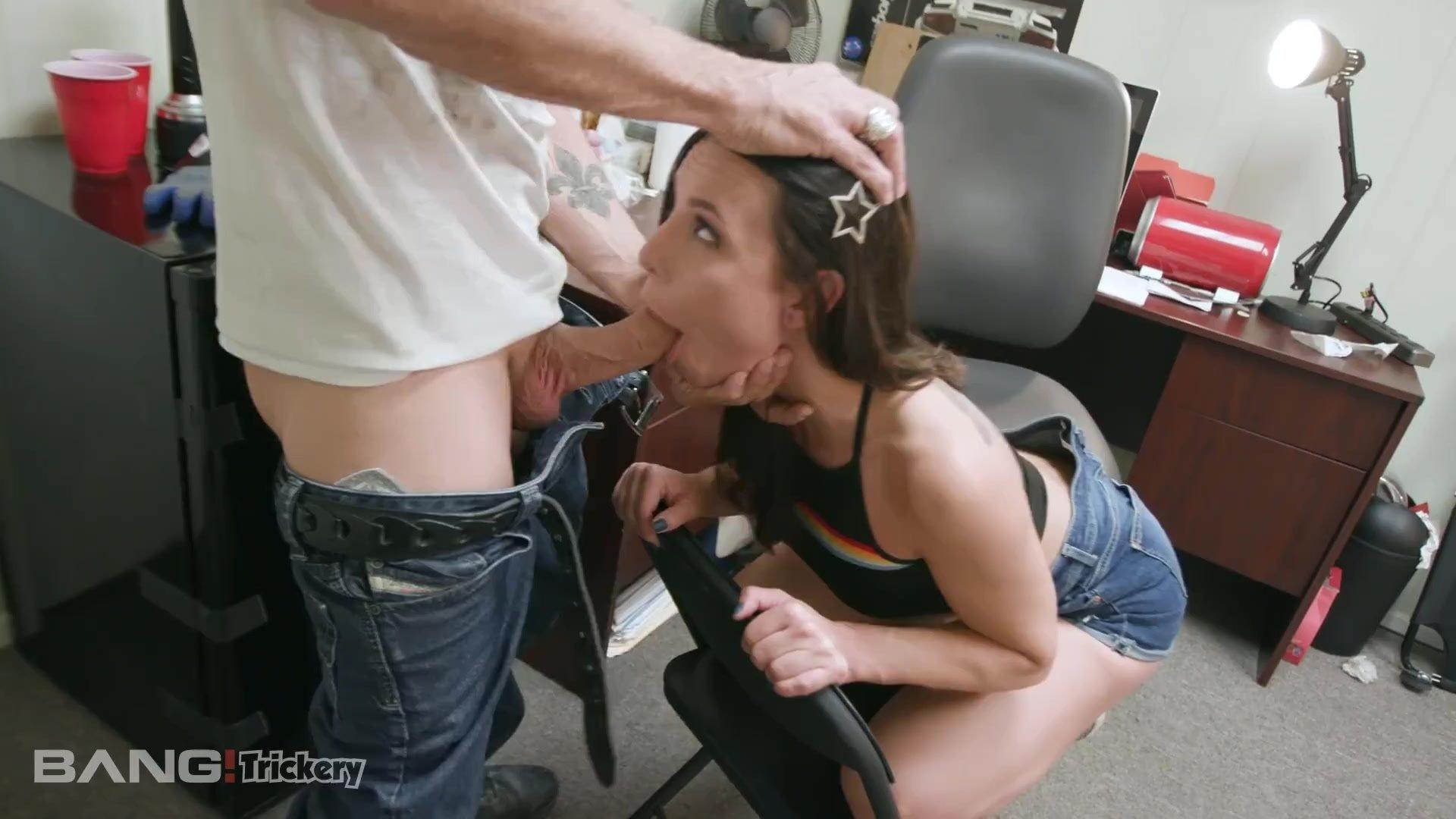 Trickery - Aidra Fox Pays The Mechanic With Her Pussy
