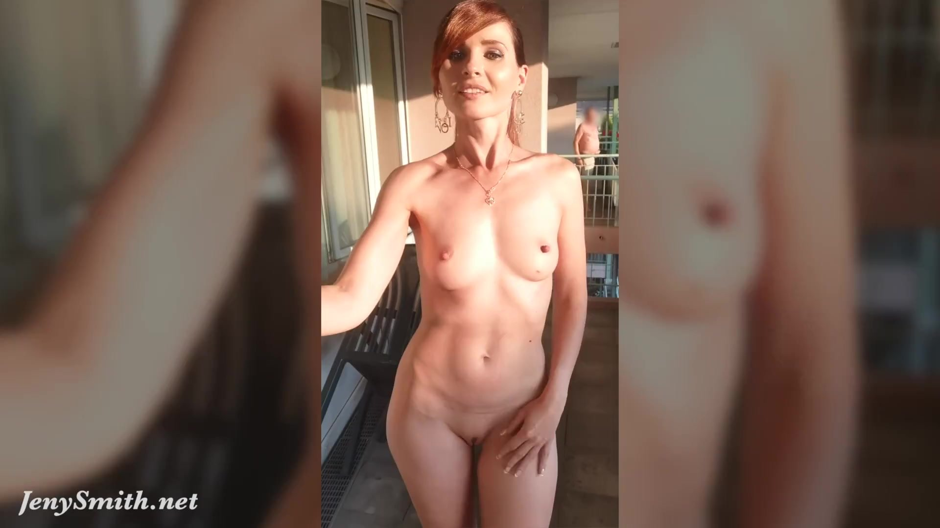 Jeny Smith compilation. Naked in public with flashing and body art scenes