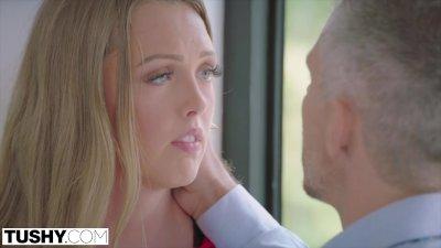 TUSHY Shy Intern Secretly Wants To Be Gaped By Her Boss